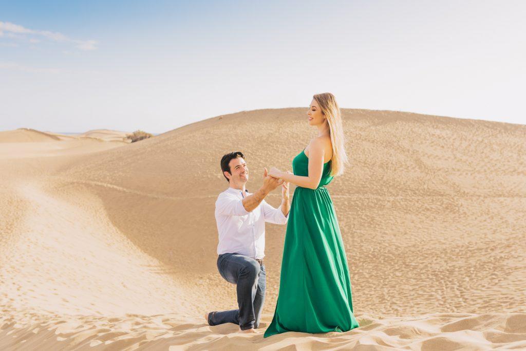 Романтические фотосессии Дюны Мас