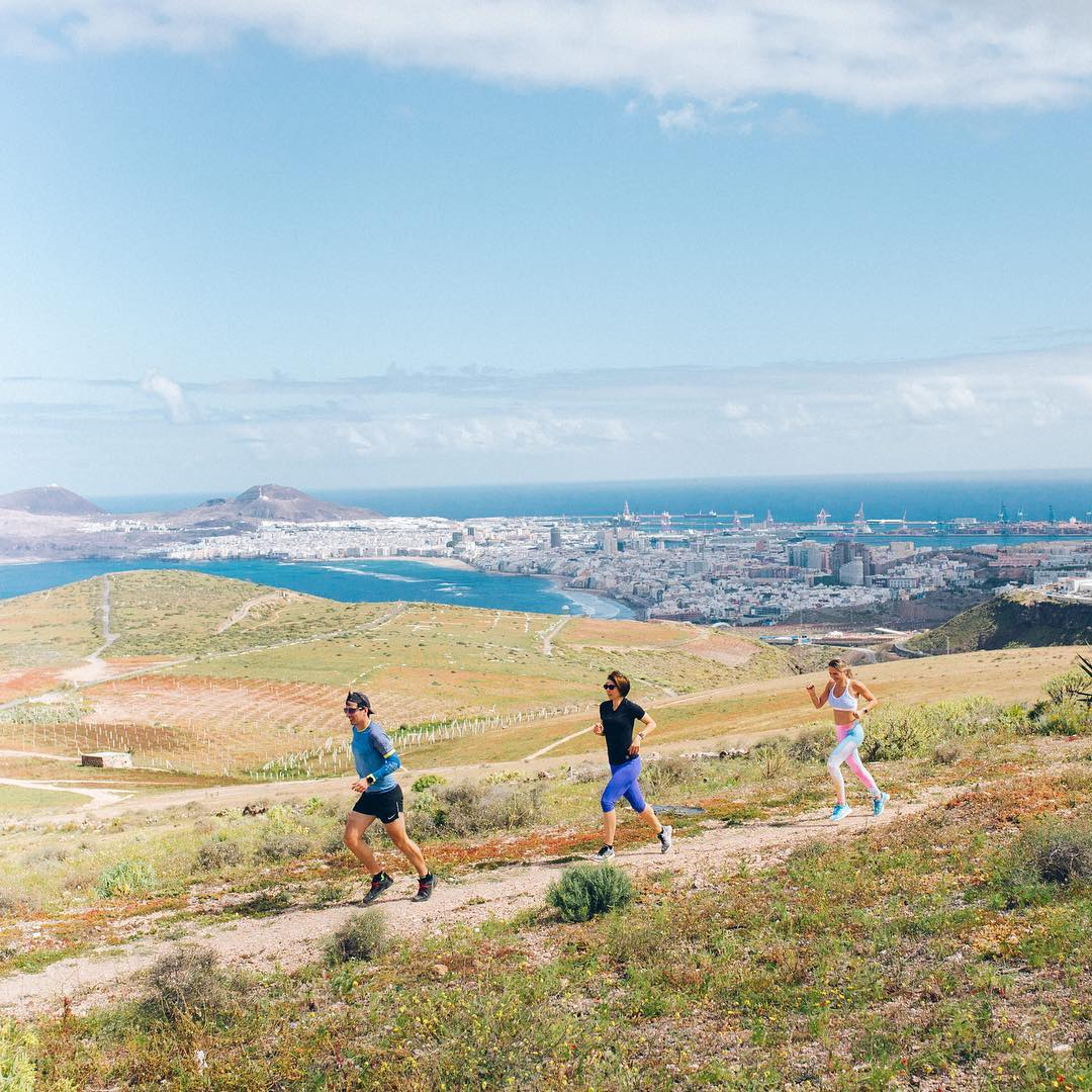 Running photo Gran Canaria