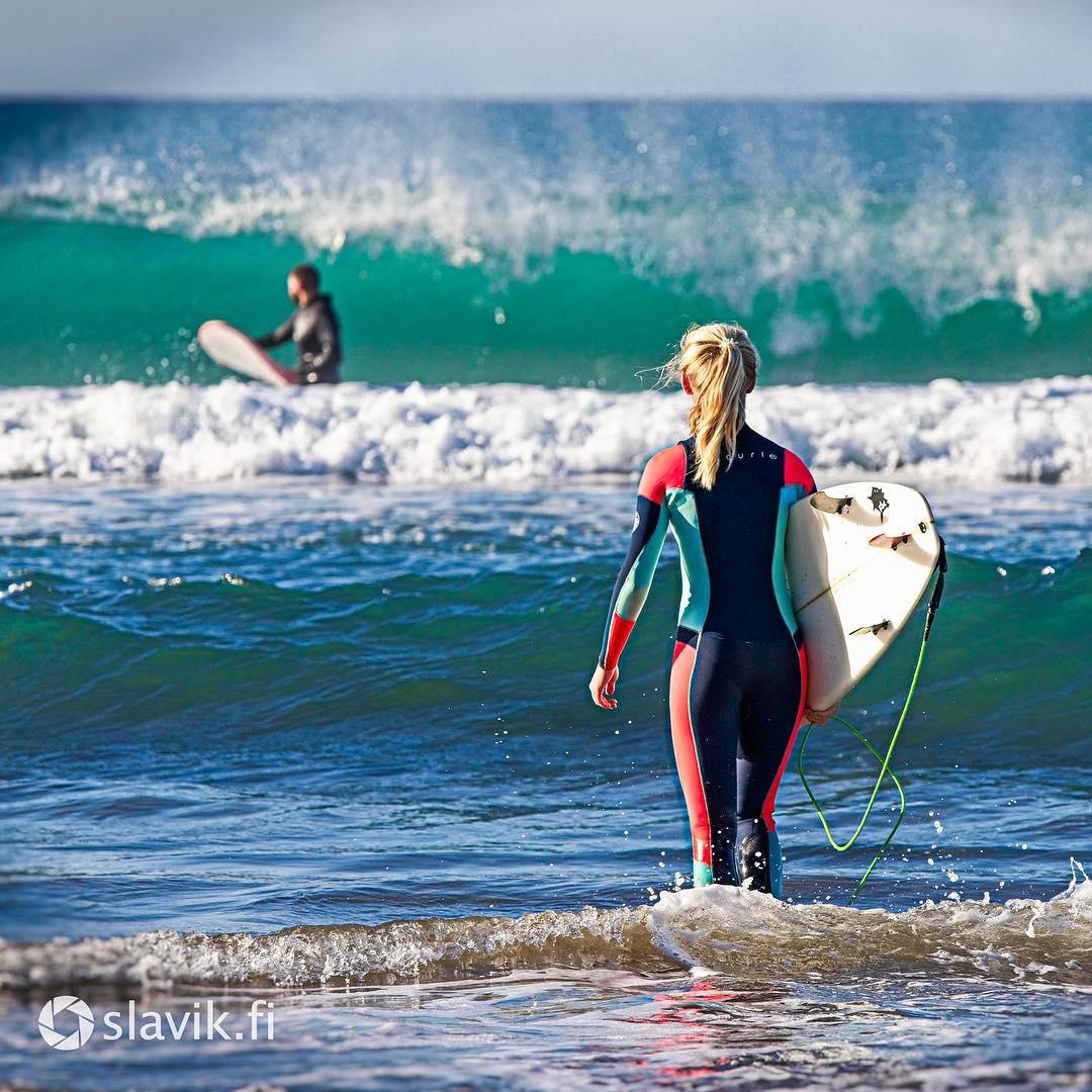 Surfing photo Las Palmas